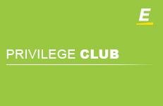 Privilege club card visual