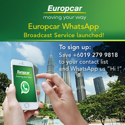 Europcar Malaysia Whatsapp